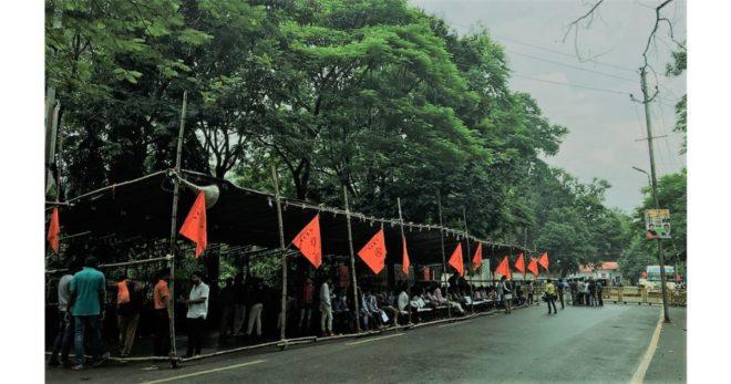 झारखण्ड में अपने छात्र मोर्चा तक को संभालने में विफल है सरकार