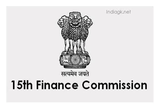 15वें वित्त आयोग केंद्रीय सिफारिशों को आधार मानती है
