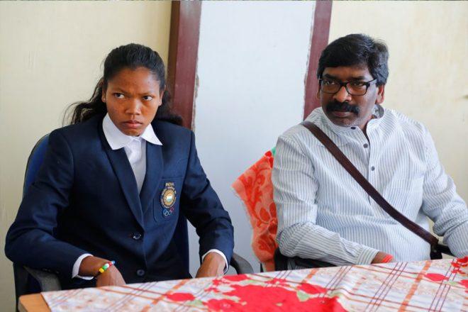 झारखंडी प्रतिभावान खिलाड़ियों ( सलीमा टेटे ) की कब फ़िक्र होगी रघुवर सरकार को