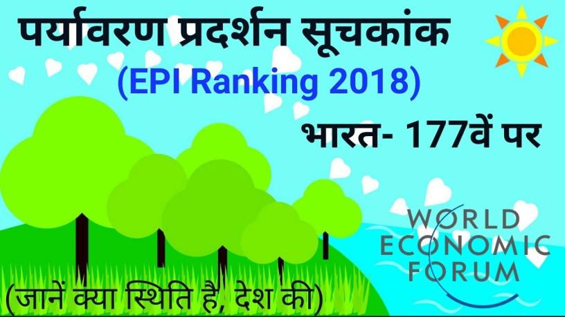 वैश्विक पर्यावरण सूचकांक