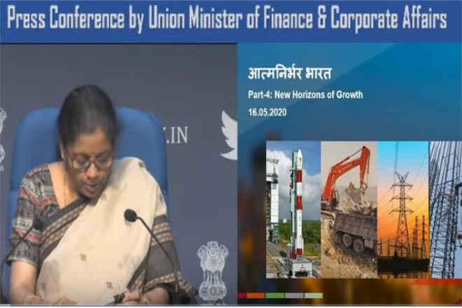 Finance Minister : कोयला एकाधिकार ख़त्म, निजी क्षेत्र को अंतरिक्ष पहुंचने की तैयारी