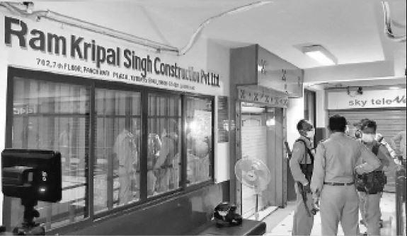 रामकृपाल कंस्ट्रक्शन रघुवर सरकार और नक्सलियों दोनों से जुड़े थे