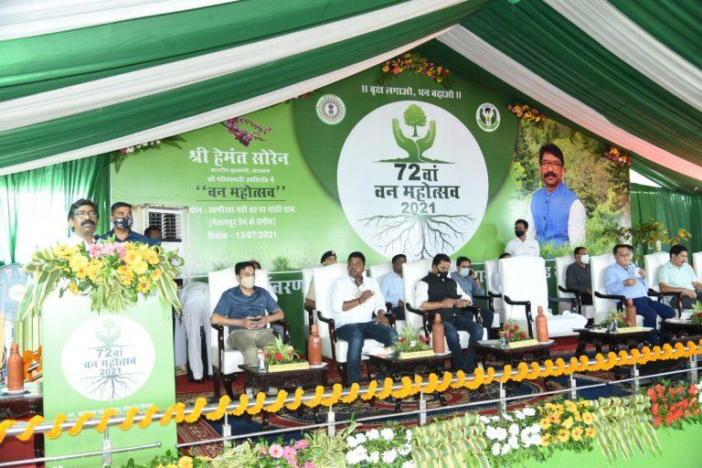 अब हेमंत सरकार लगाएगी 1.65 करोड़ पौधा